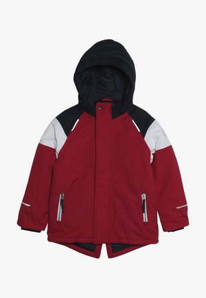 NKFSNOW JACKET BLOCK  - Winter jacket - cerise