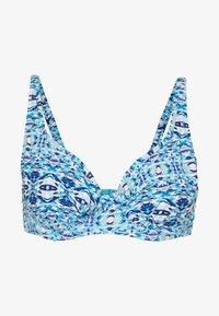 Pour Moi - ODYSSEY UNDERWIRED NON PADDED - Bikini top - blue - 4