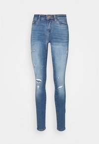 ONLY Tall - ONLCARMEN LIFE TALL - Jeans Skinny Fit - medium blue denim - 3