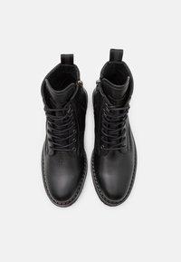 Marc O'Polo - LACE UP BOOT - Šněrovací kotníkové boty - black - 3