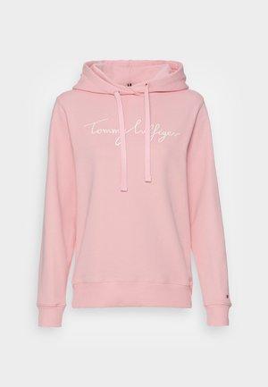 HILFIGER HOODIE - Sweatshirt - glacier pink