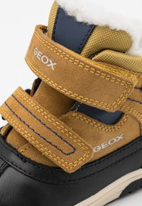 Geox - OMAR BOY WPF - Winter boots - yellow/blue - 5