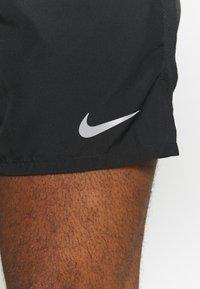 Nike Performance - CHALLENGER SHORT - Sports shorts - black/silver - 3