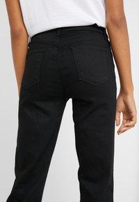 J Brand - ADELE MID RISE  - Straight leg jeans - vesper noir - 5