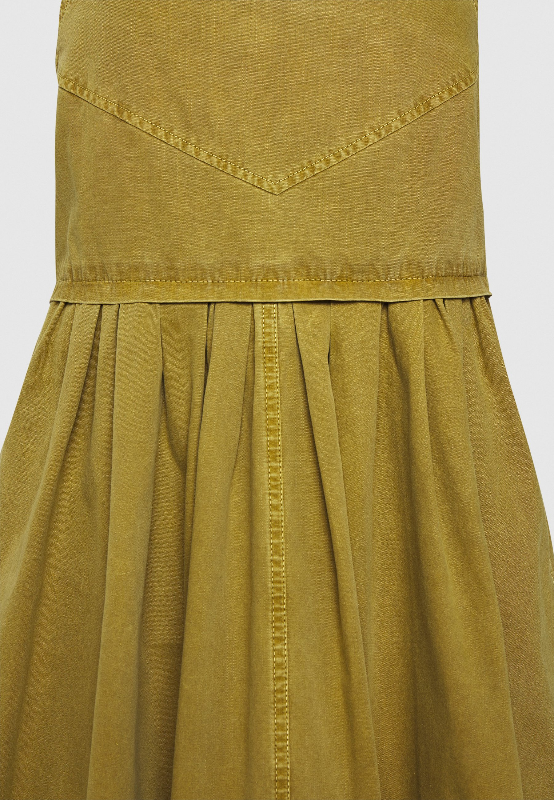 Get The Latest Fashion Women's Clothing Proenza Schouler WASHED APRON DRESS Day dress moss axmw3hg99