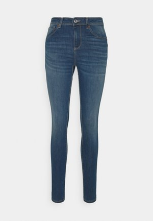 TROUSERS - Jeansy Skinny Fit - mid blue