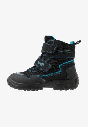 SNOWCAT - Winter boots - schwarz/blau