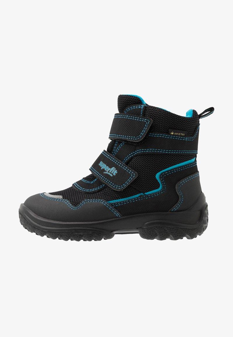 Superfit - SNOWCAT - Winter boots - schwarz/blau