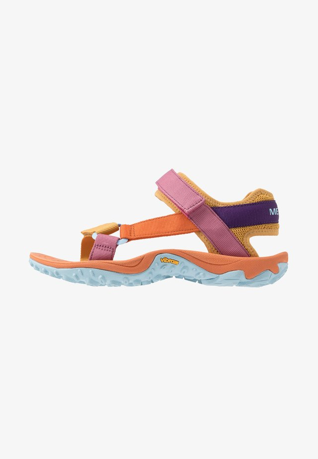 KAHUNA - Outdoorsandalen - apricot orange