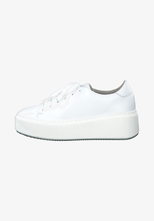 Sneakersy niskie - white leather