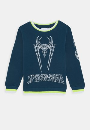 NMMSPIDERMAN BJARK - Sweatshirt - gibraltar sea