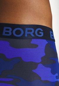 Björn Borg - TONAL CAMO SHORTS - Underkläder - peacoat - 4