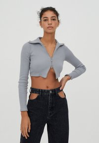 PULL&BEAR - Kardigan - grey - 1