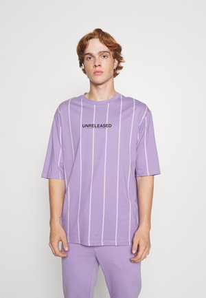 UNISEX - Print T-shirt - lilac