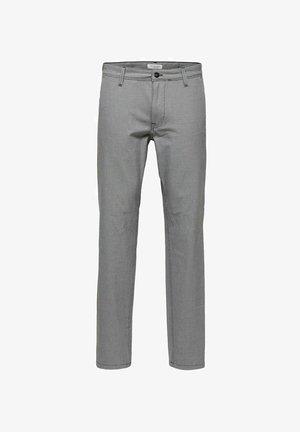 SLHSLIM STORM FLEX SMART PANTS - Trousers - sand