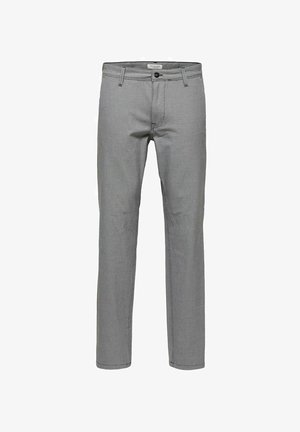 SLHSLIM STORM FLEX SMART PANTS - Kalhoty - sand