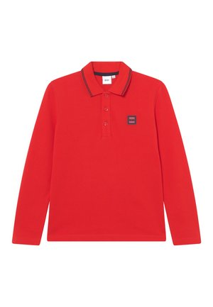 LONG SLEEVE - Polo shirt - new red