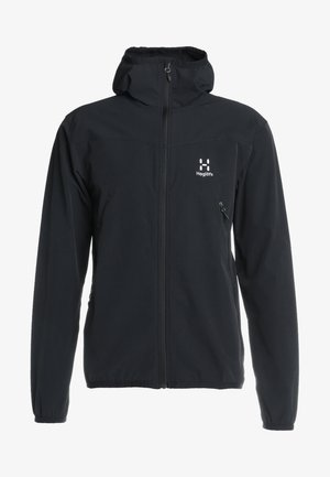 NATRIX HOOD MEN - Soft shell jacket - true black