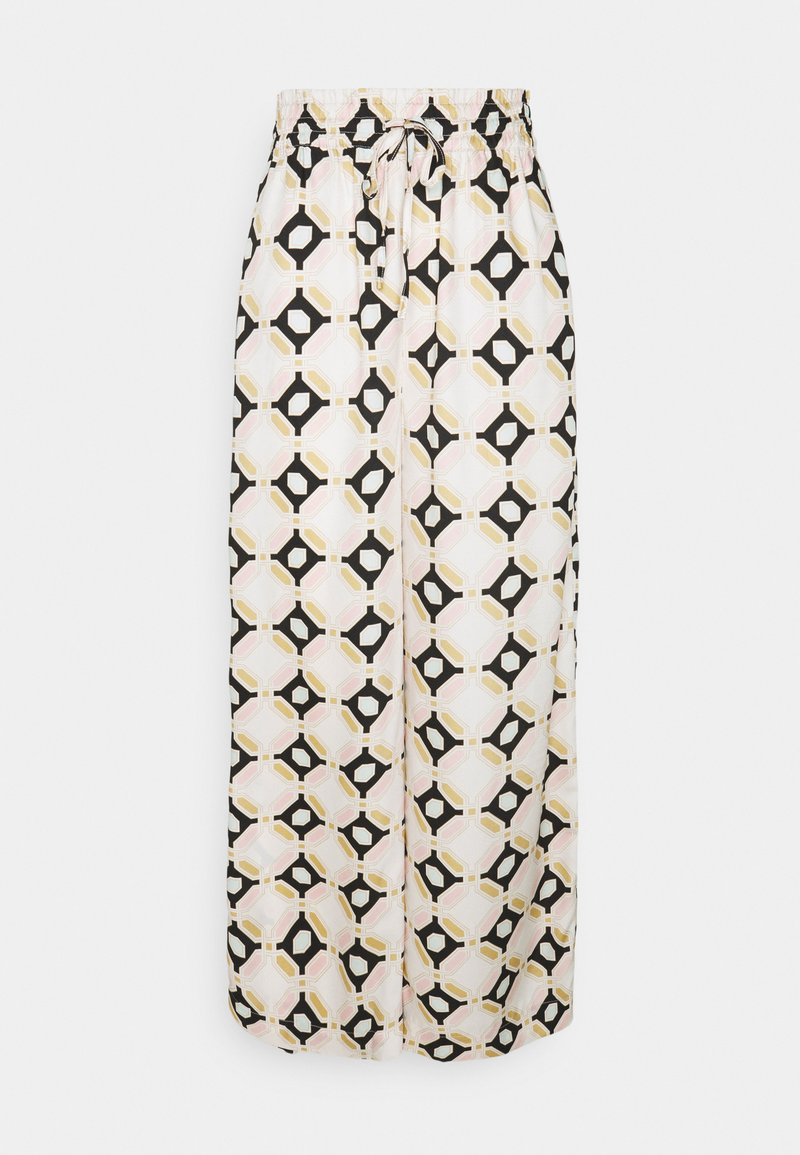 Gina Tricot - DISA TROUSERS - Trousers - off-white