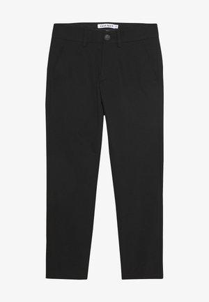 KLAUS PANTS - Kalhoty - black
