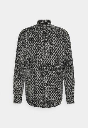 ROCKAWAY CAMICIA - Shirt - black/silver