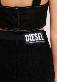 Diesel - O-BRYEL-A GONNA - Áčková sukně - black - 5