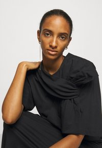 MM6 Maison Margiela - Jersey dress - black - 3
