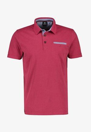 Polo shirt - rose hip red