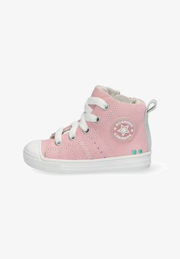 FRANS FERM  - High-top trainers - pink