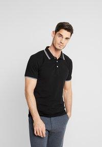 Lindbergh - CONTRAST PIPING - Polo shirt - black - 0