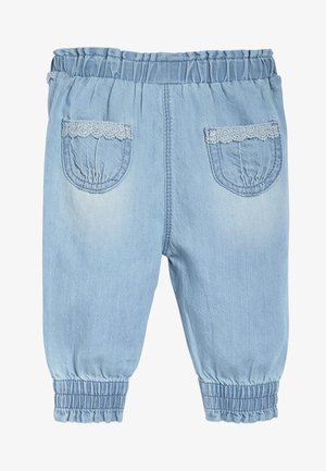 DENIM TROUSERS (0MTHS-2YRS) - Vaqueros tapered - blue