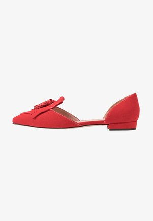 HARLECH FLAT - Baleriny - authentic red