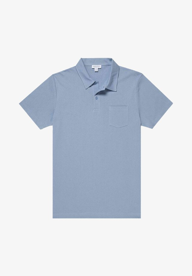 RIVIERA - Polo shirt - washed denim