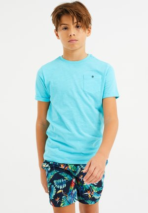 WE FASHION JONGENS T-SHIRT - T-shirt basic - light blue