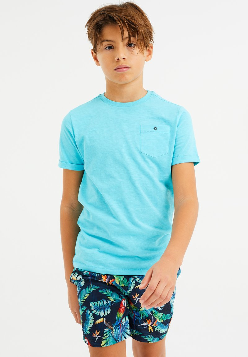 WE Fashion - WE FASHION JONGENS T-SHIRT - T-shirt basic - light blue