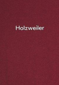 Holzweiler - LIVE TEE - Print T-shirt - burgundy - 6