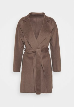 EDINA JACKET - Krátký kabát - dark taupe