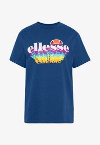 ZINGHA - Print T-shirt - blue