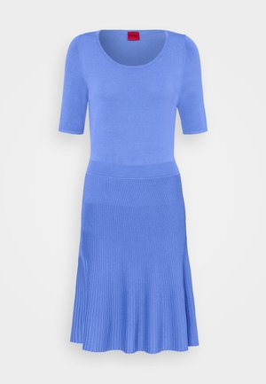 SHANEQUA - Vestido de punto - turquoise/aqua
