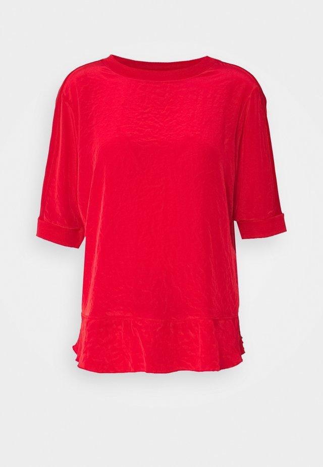 T-shirt imprimé - cranberry