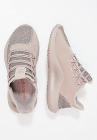 adidas Originals - TUBULAR SHADOW - Trainers - vapour grey/raw pink - 1