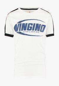 Vingino - HAMPION - Print T-shirt - real white - 1