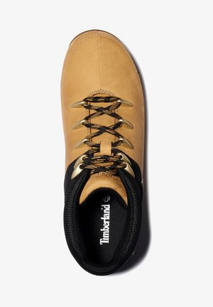 EURO SPRINT - Stivaletti stringati - wheat nubuck w black