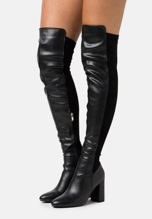 COURAGE - High Heel Stiefel - black
