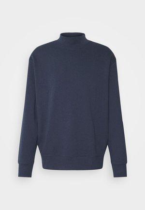 SLHLOOSEDAWSON HIGH NECK - Sweatshirt - navy blazer