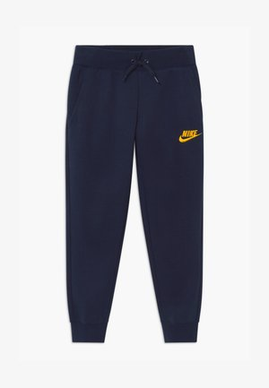 Tracksuit bottoms - obsidian/university gold