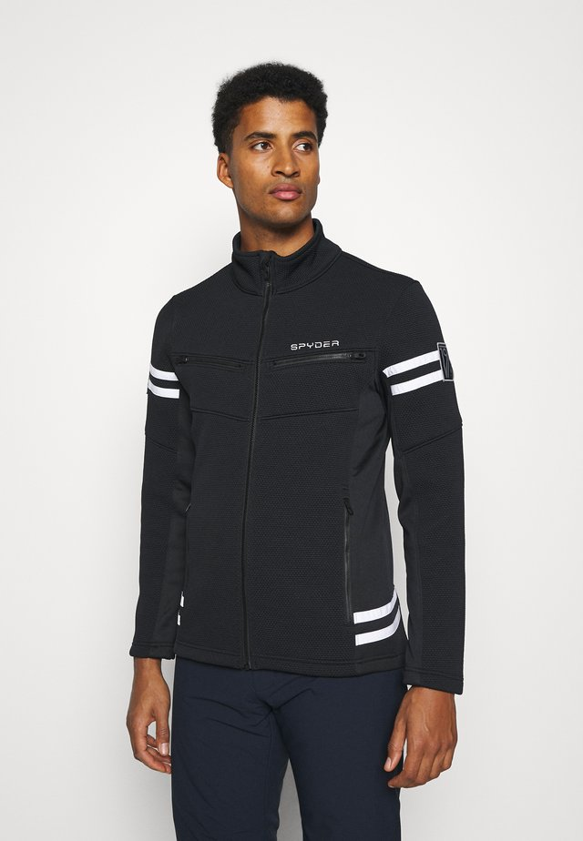 WENGEN ENCORE FULL ZIP - Giacca in pile - black