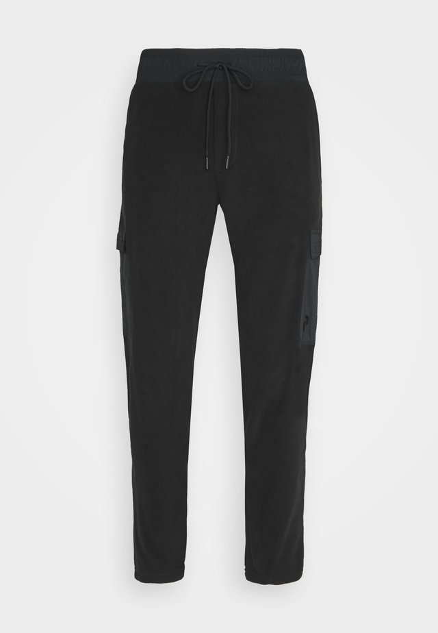 TECH SOFT PANT - Pantalones - black