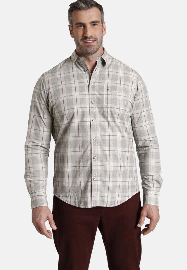 Overhemd - grau kariert