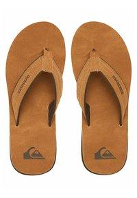 Quiksilver - CARVER - T-bar sandals - beige - 2